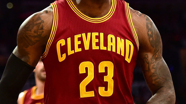 Cavs to sport Wingfoot logo on jerseys