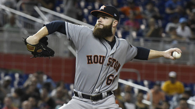 McCullers helps Astros beat Marlins 3-0 to complete sweep