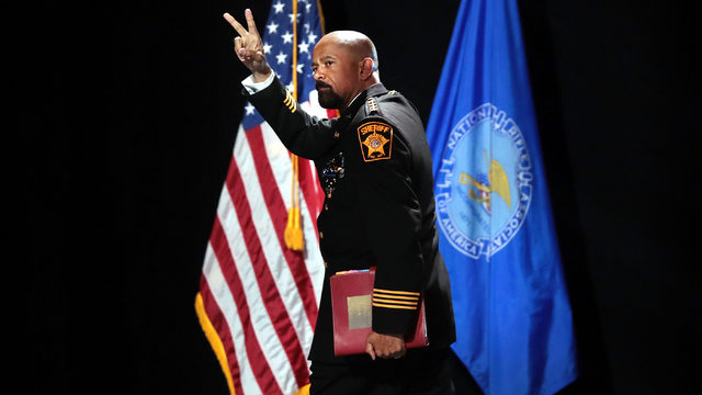 Who is Milwaukee County Sheriff David Clarke