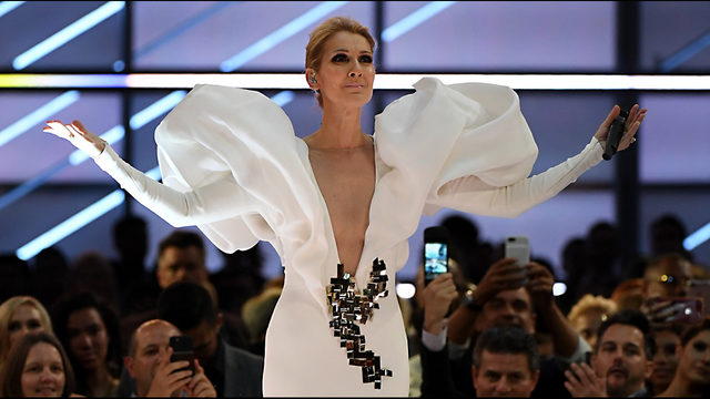 Celine Dion Goes unclad in Instagram Photo