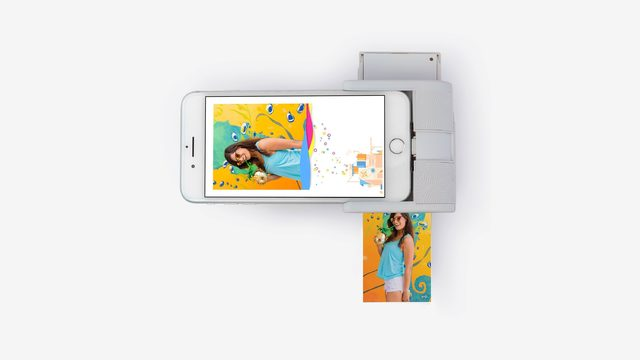Gadget turns iPhone into photo printer