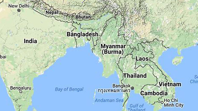 Cyclone flattens Rohingya refugee camps in Bangladesh