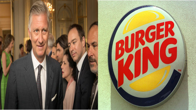 Burger King slammed by Belgian royal family after controversial advert