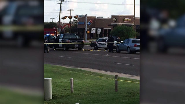 Suspect dead, 3 police officers wounded in Texas shootout