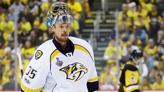 Goaltender Pekka Rinne gets start for Predators in Game 3 of Final