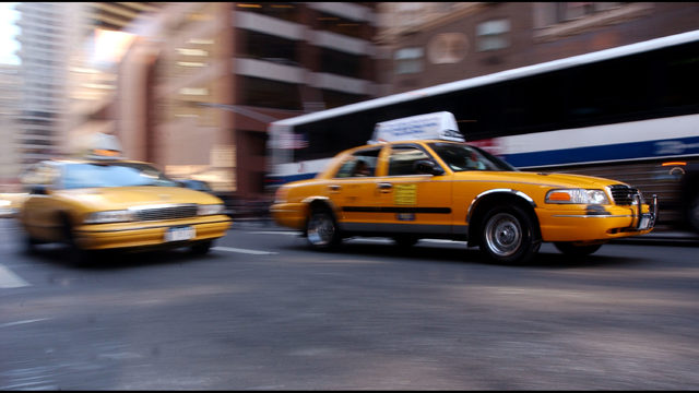 New York City cabs test ride-sharing for discounted fares