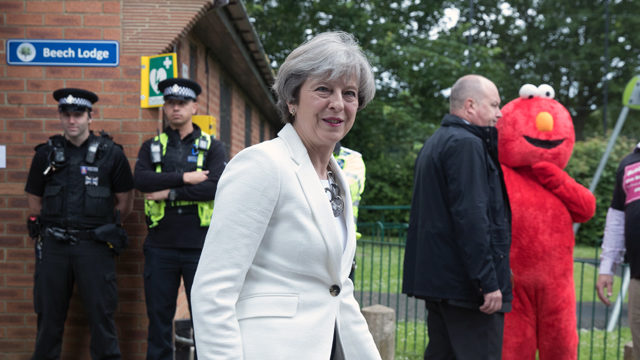 May Struggles to Hang On as Election Plunges Britain Into Political Chaos
