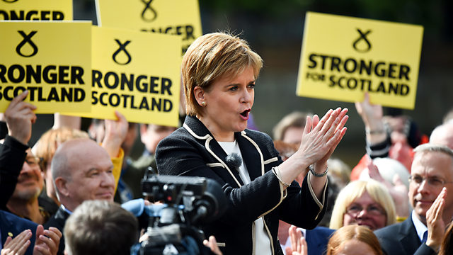 Indyref2 plans a factor in SNP election result, Nicola Sturgeon admits