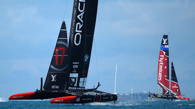 Oracle skipper Spithill tough on, off water in America's Cup