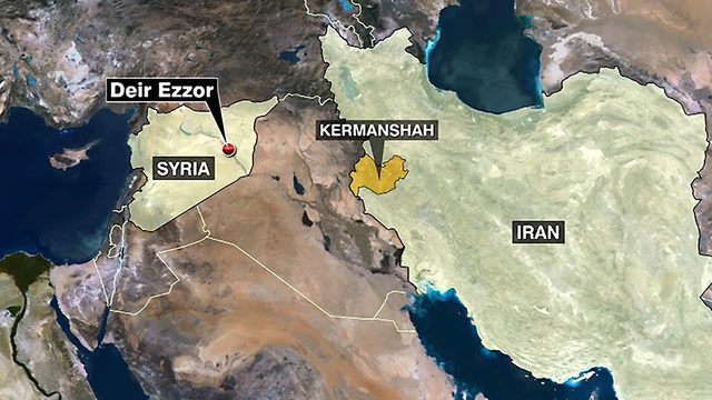 Iran launches missiles into Syria
