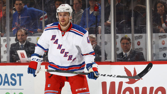 Rangers agree to deal with defenseman Brendan Smith