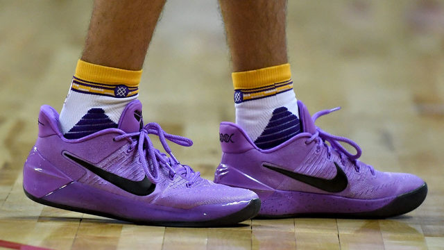 Here's what LeBron had to say about Lonzo Ball's shoes