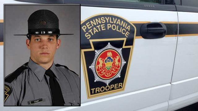 Pa. state trooper killed in violent crash with garbage truck
