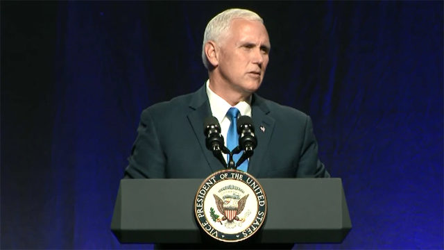 Vice President Pence says Congress need to 'step up' on health care