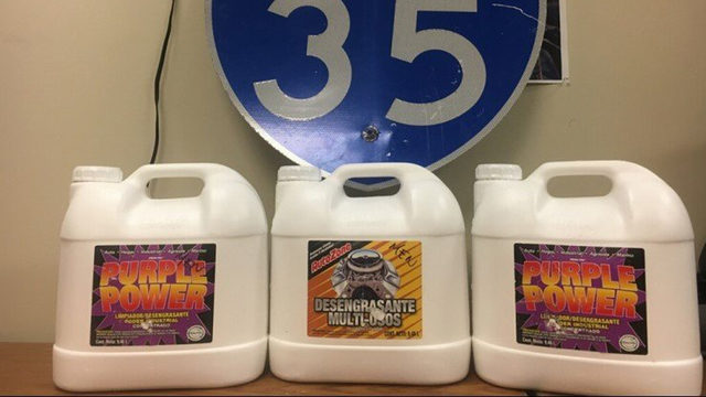 Woman stashed $2M worth of liquid meth in cleaning jugs, police say