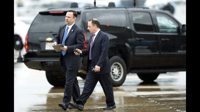 Ousted Priebus praises Trump, refuses to comment on Scaramucci insults