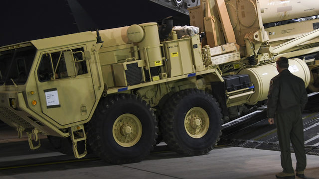 United States military says is conducted 'successful' THAAD missile test over Pacific Ocean