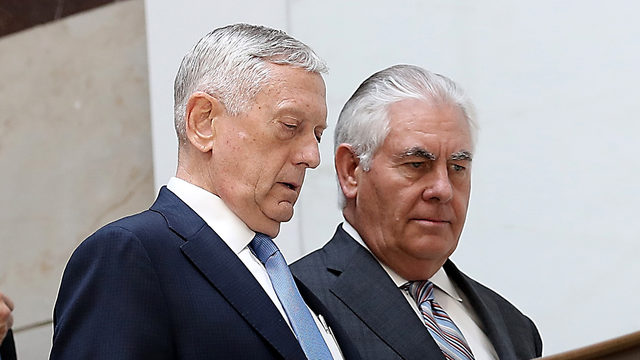 Tillerson, Mattis present united front on North Korea