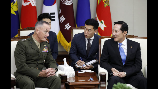 USA insists military ready to counter North Korea