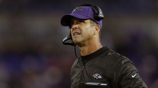 Ravens give John Harbaugh 1-year contract extension