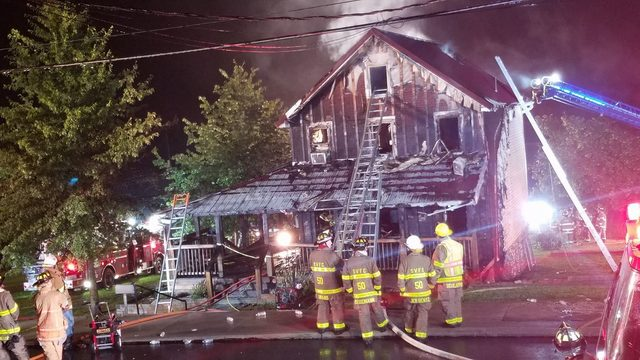 Pregnant woman, two children killed in Berks County fire