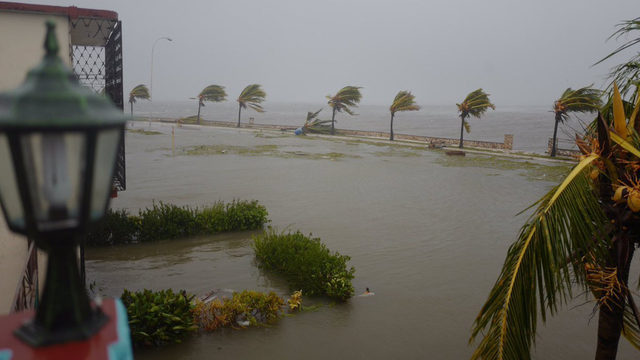 Powerful Hurricane Irma Strips Caribbean Islands of Color