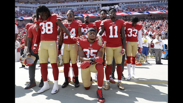 Fans divided on NFL, Trump controversy