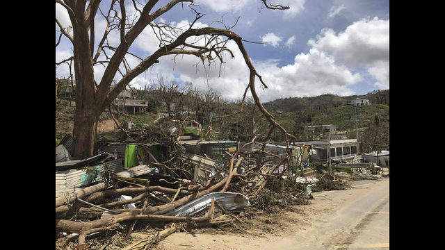 President Trump Promises 'Massive Federal Mobilization' To Help Puerto Rico