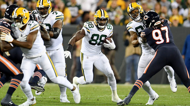 Packers RB Montgomery has multiple broken ribs
