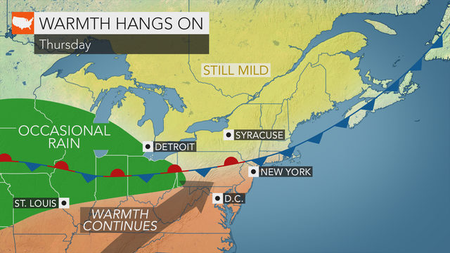 Warm, humid weekend ahead at the Jersey Shore