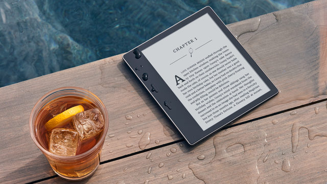 The waterproof Kindle is finally here!